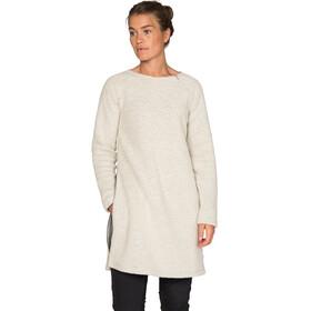 Varg Fårö Long Wool Dress Women Off White